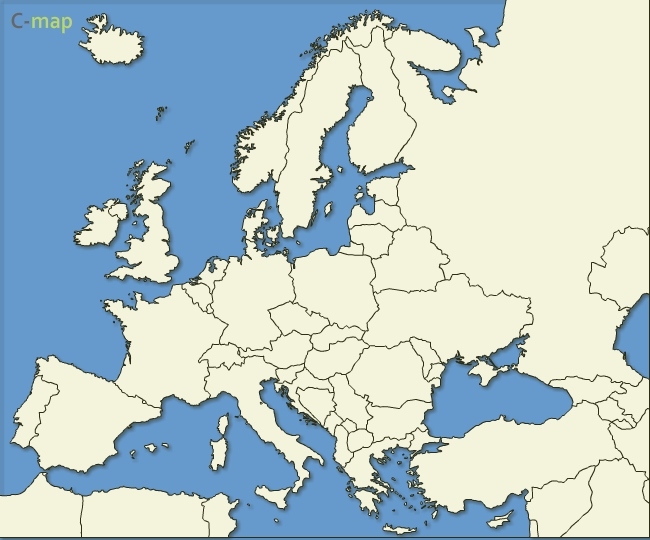 Free Vector Maps of Europe Country