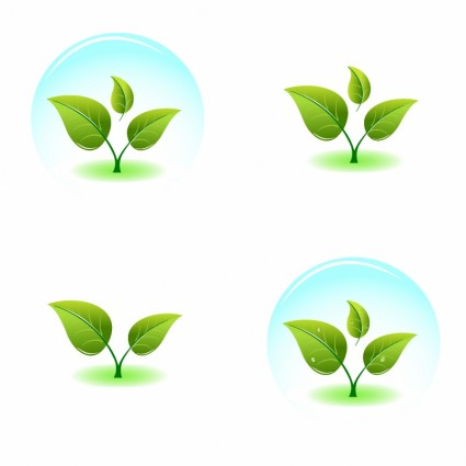 Growing Plant Vector Graphic