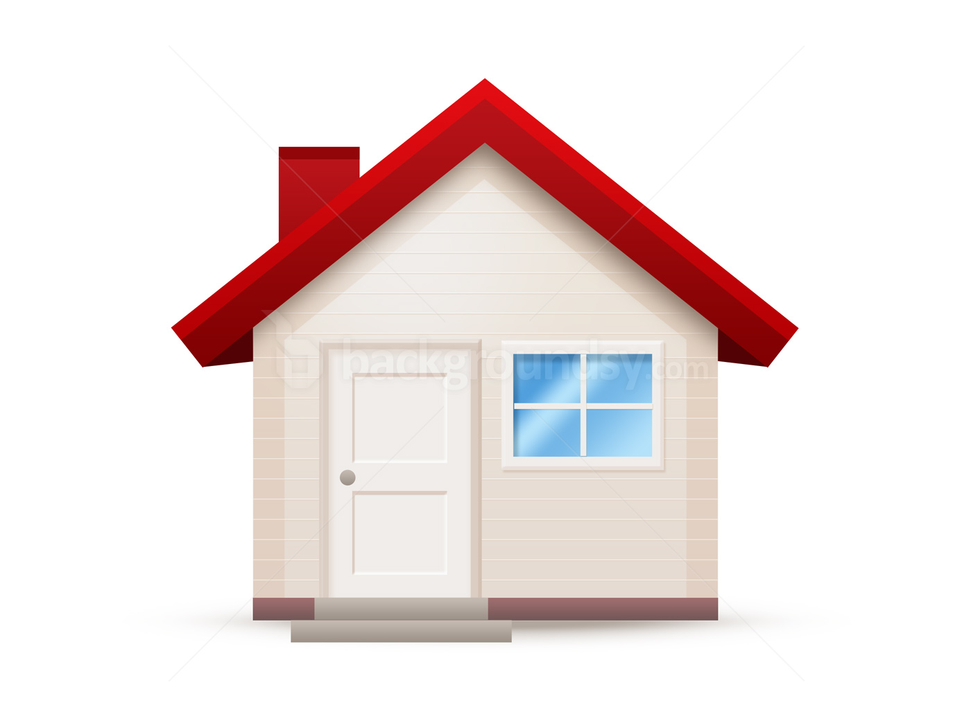 9 PSD Simple House Images