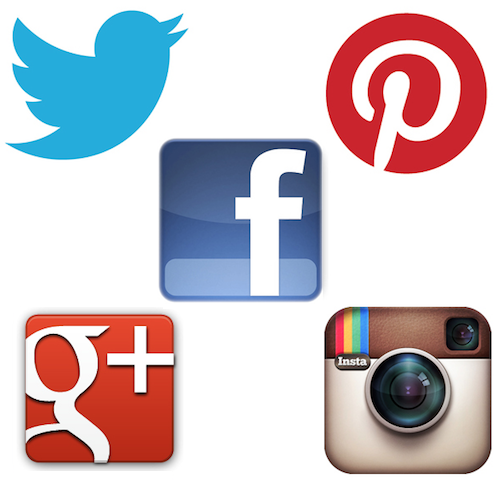 16 Pinterest Facebook Instagram Icons PNG Images