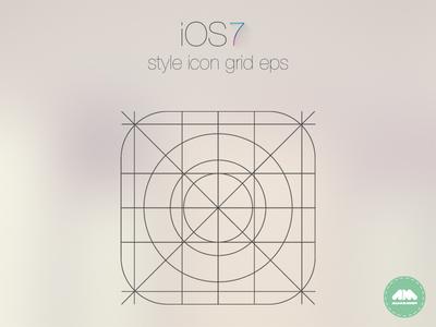 iOS App Icon Grid