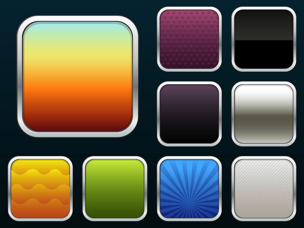 iPhone App Icon Vector