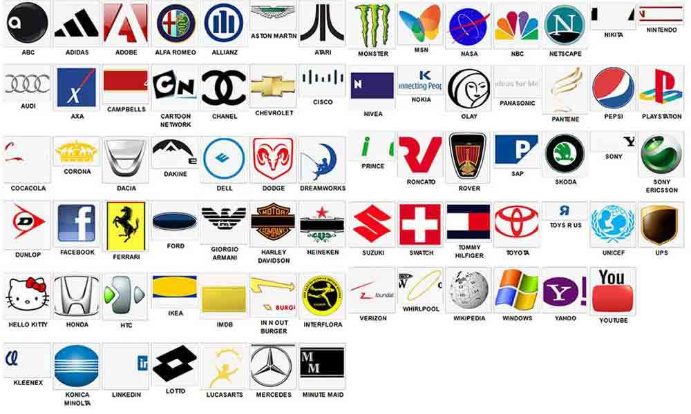 8 Icon Quiz White Images