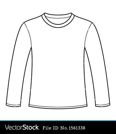 14 long sleeve t shirt vector images long sleeve shirt template vector long sleeve t shirt. Black Bedroom Furniture Sets. Home Design Ideas