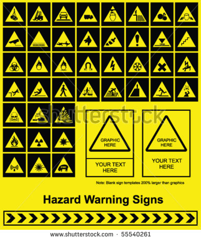 Make Your Own Safety Warning Signs