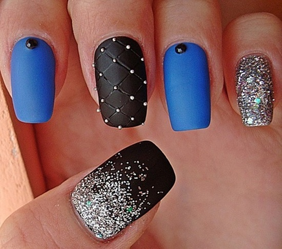 12 Matte Nail Designs Images