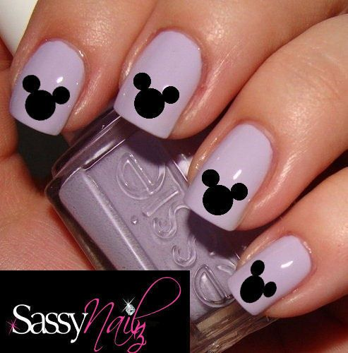 15 Mickey Mouse Nail Art Designs Images Mickey Mouse Nail Art