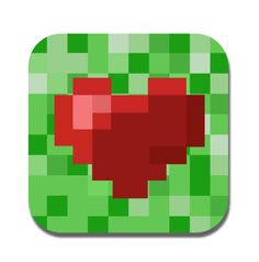 Minecraft Heart Pixel Art