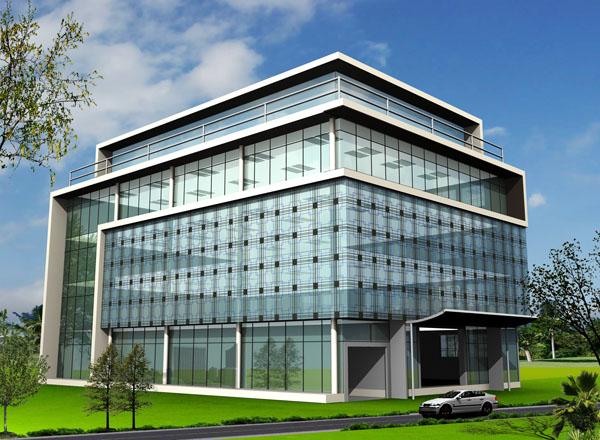 Modern Commercial Building Design