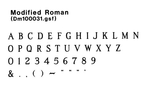 15 Free Font Of Roman Modified Images