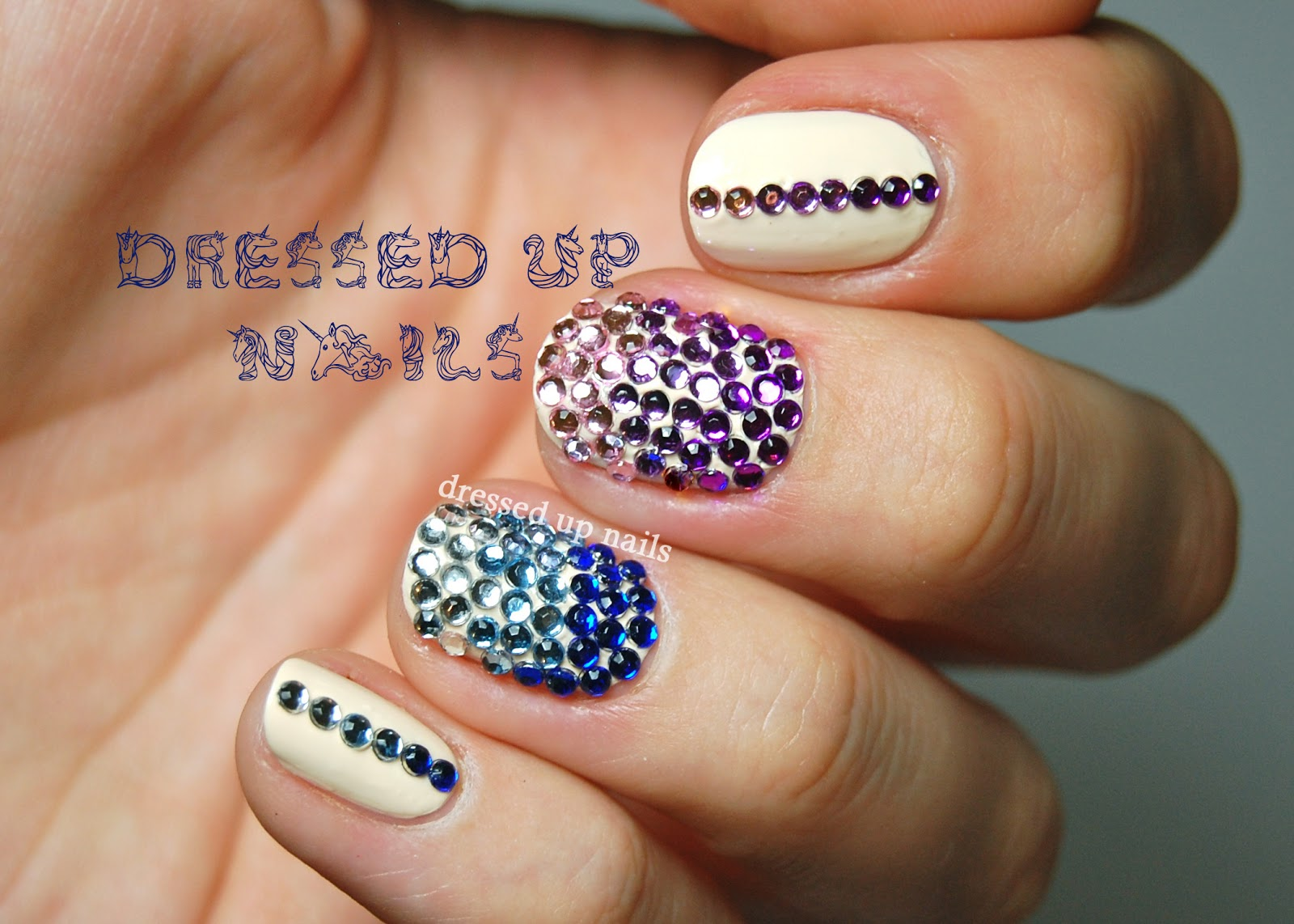 Nail Designs With Rhinestones 8 Nail Designs With Rh...