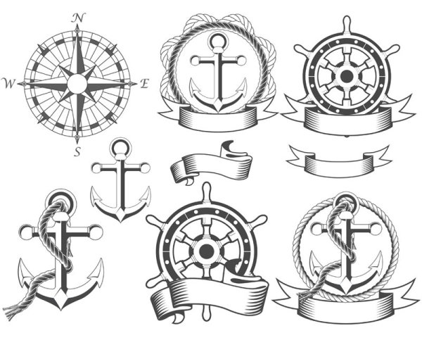 13 Nautical Vector Art Images