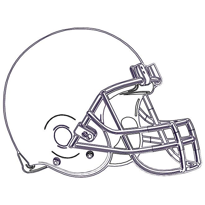 NFL Football Helmet Vector
