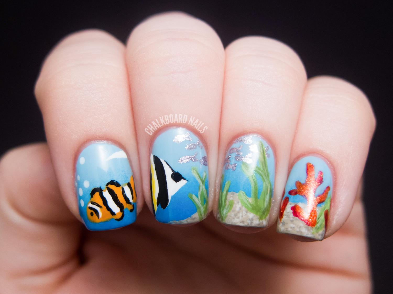 10 Ocean Nail Designs Images
