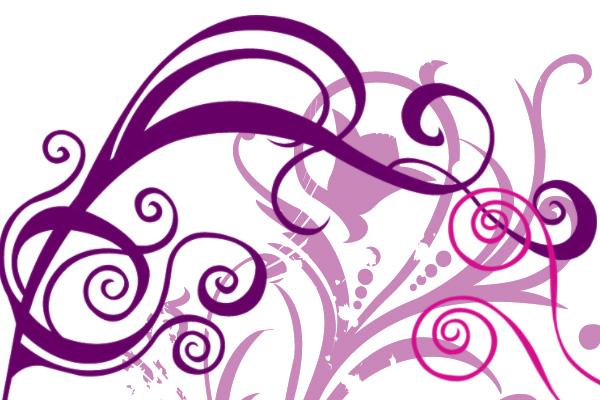 19 Swirl Brushes For Photoshop Elements Images - Photoshop