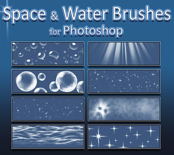 Photoshop Water Brushes