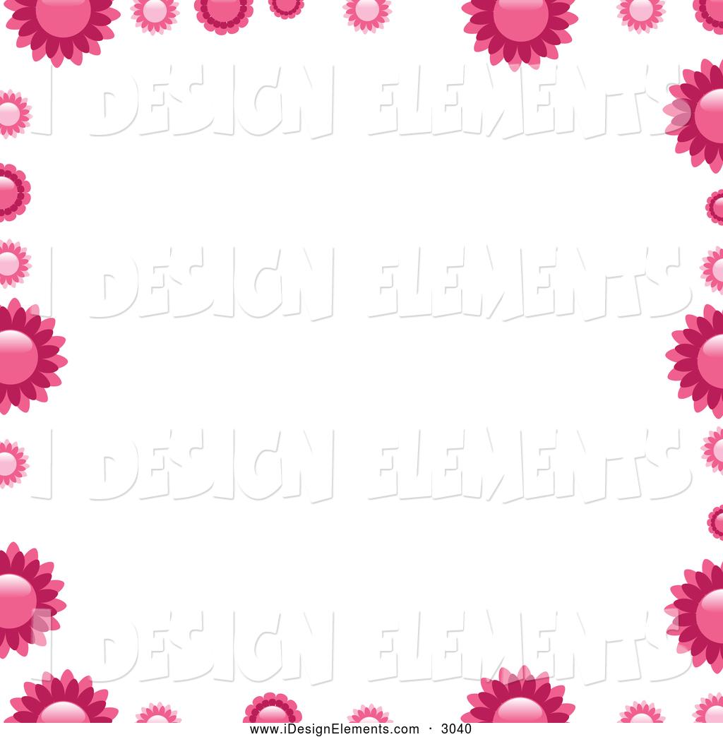 10 Beautiful Flowers Borders Designs Images Flower