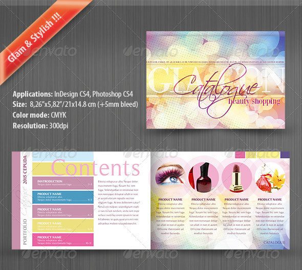 psd catalog product images product catalog design template product
