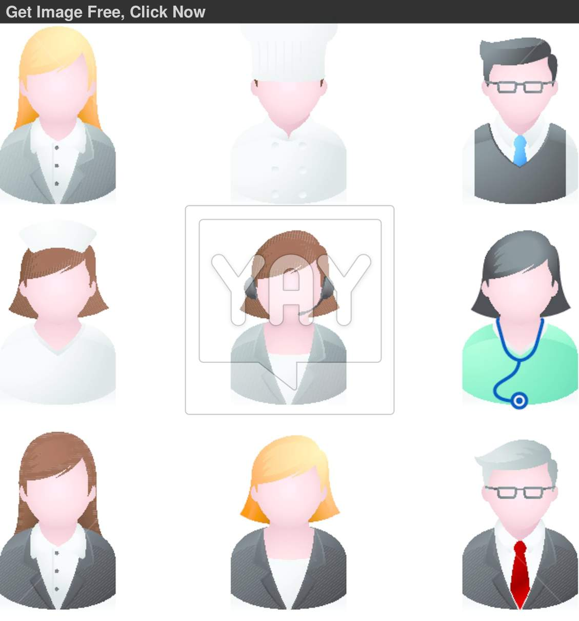 Professional People Clip Art