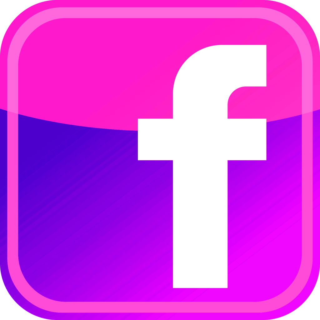 9 Pink Facebook Icon Images