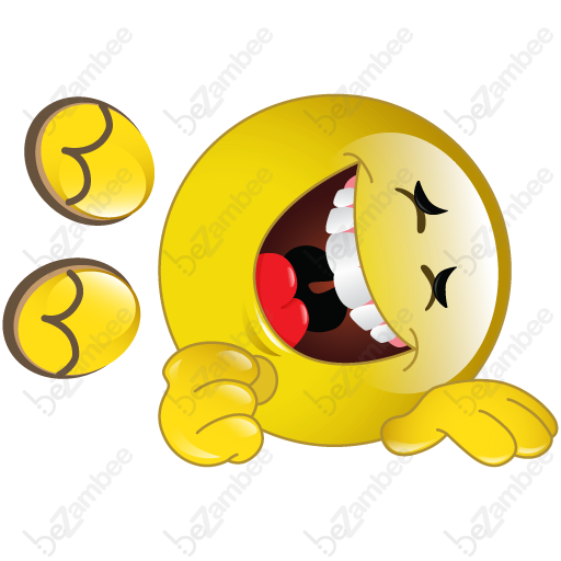 9 Rolling Laughing Emoticon Images