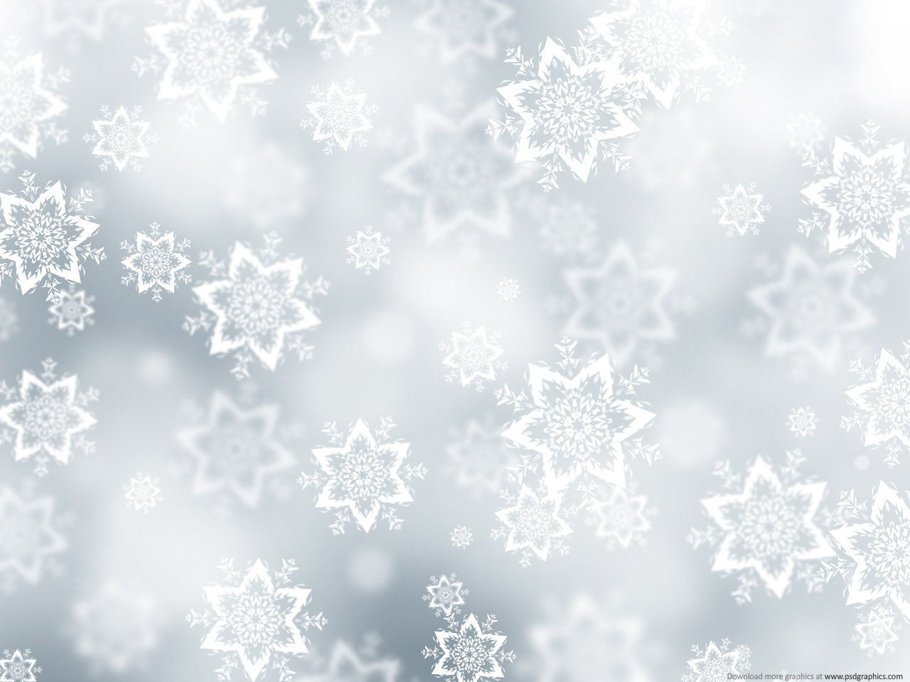 14 Snowing Backgrounds PSD Images