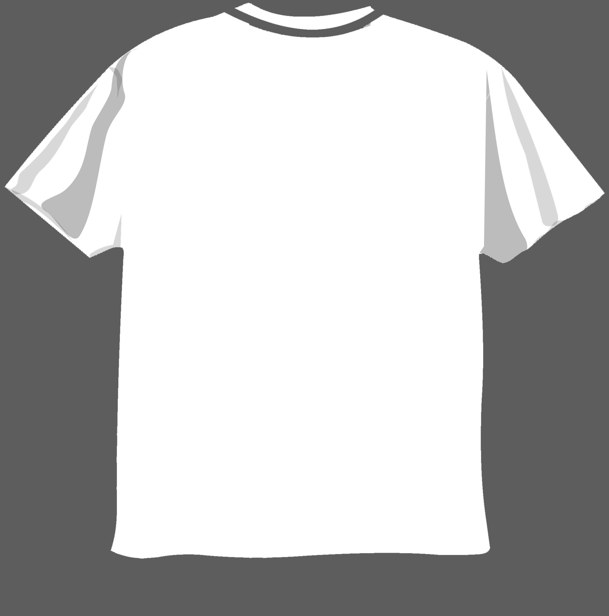 16 blank t shirt template photoshop images blank t shirt for Blank t shirt design template