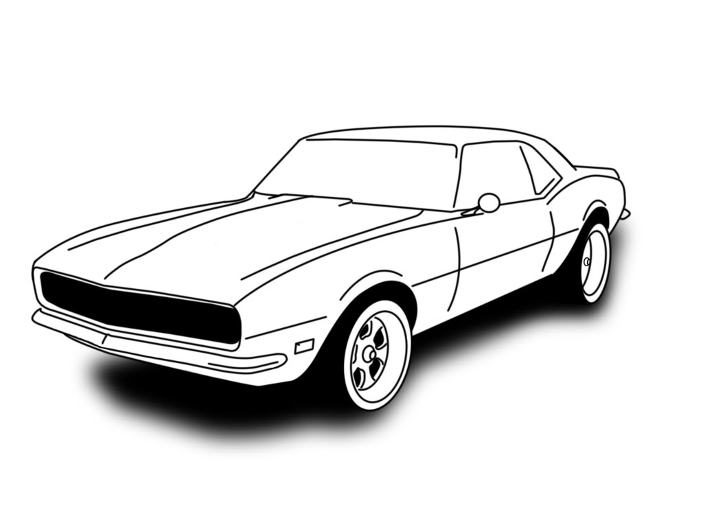 69 Camaro Outline Drawing Wwwgalleryhipcom The