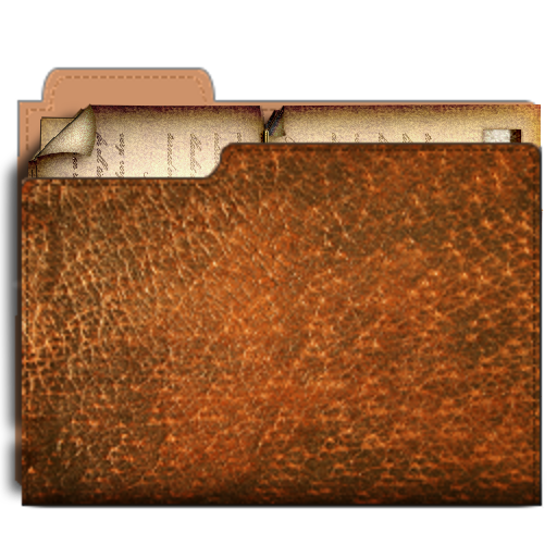 11 Steampunk Folder Icon Images