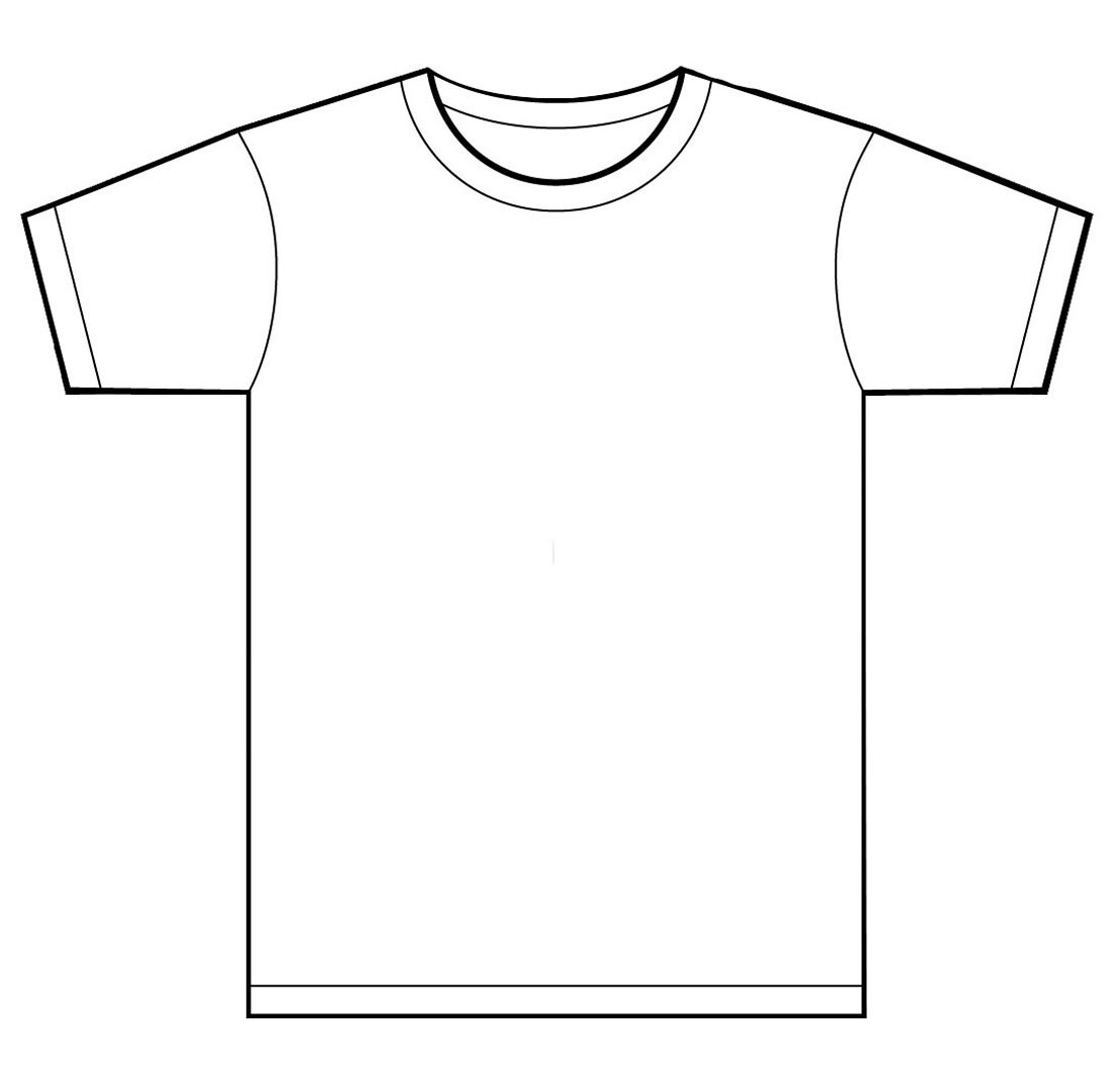 T-Shirt Design Template Illustrator