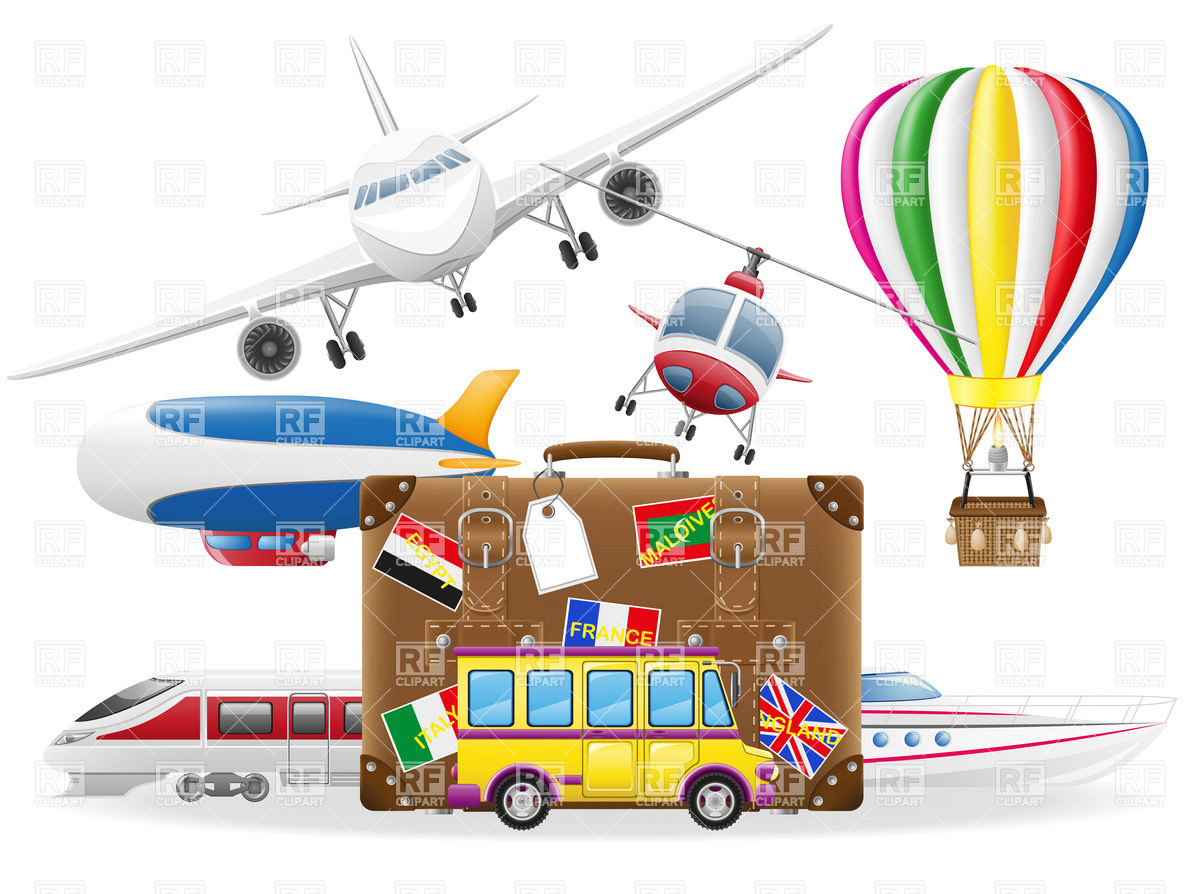 Travel Suitcase Clip Art Free