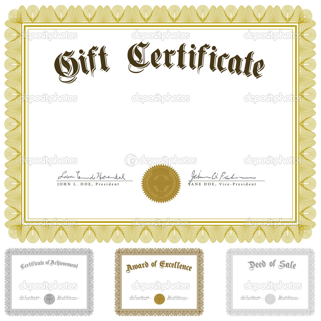Vector Certificate Borders and Frames