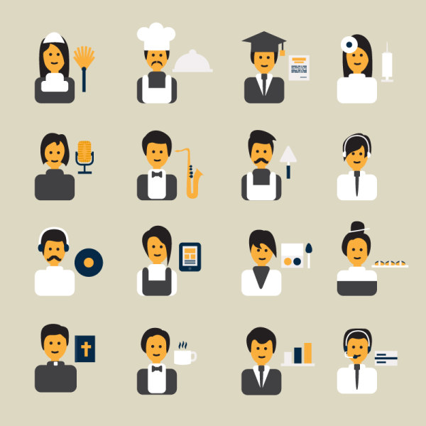 Vector Professional People Icon