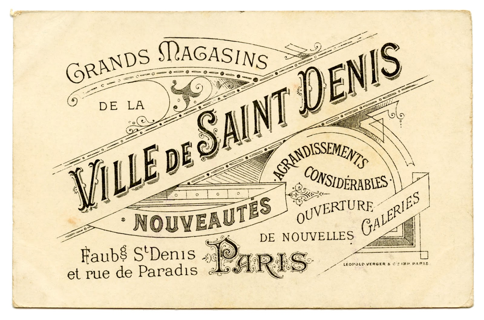 Vintage French Graphics Free