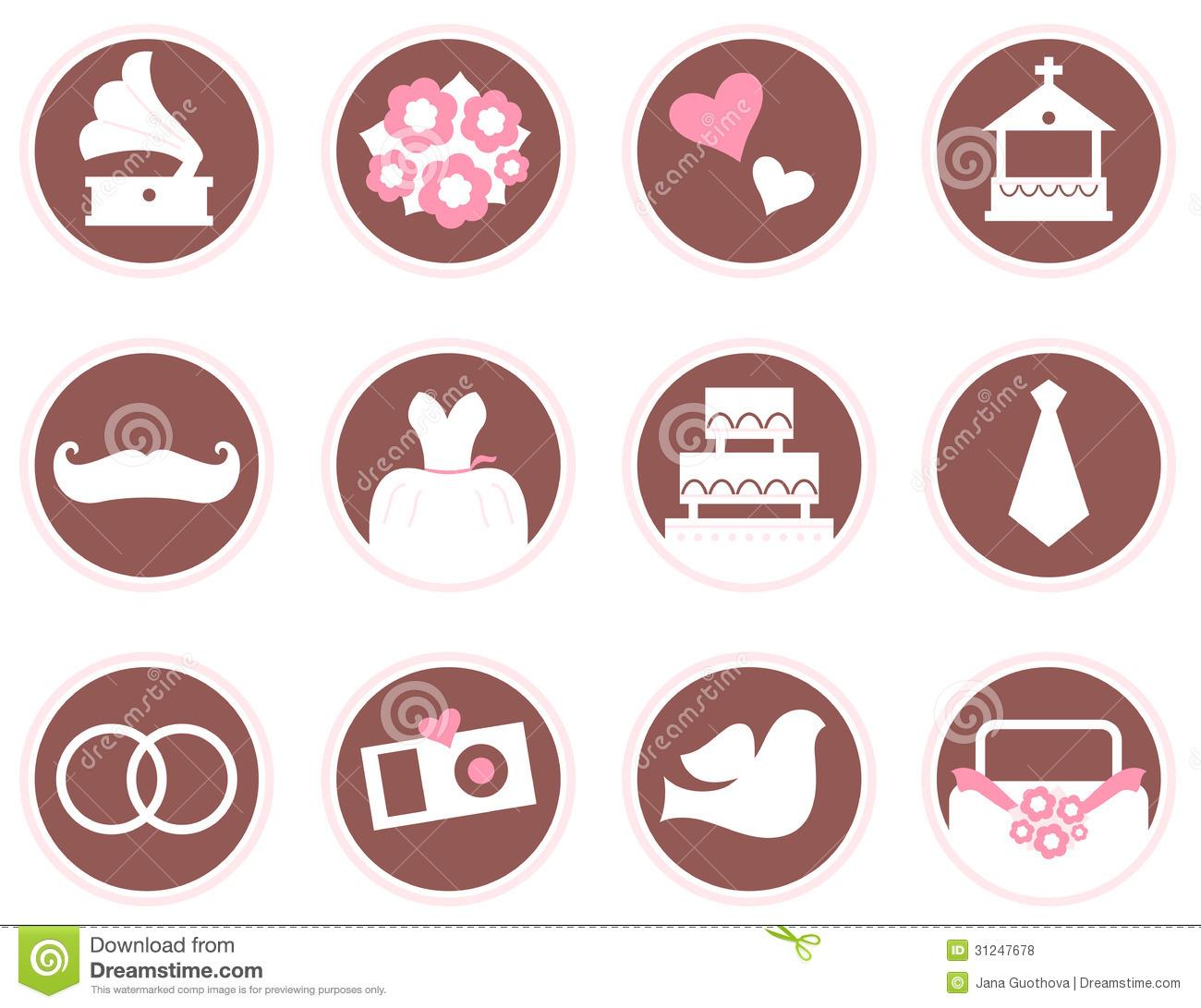 Wedding Ring Icons Free