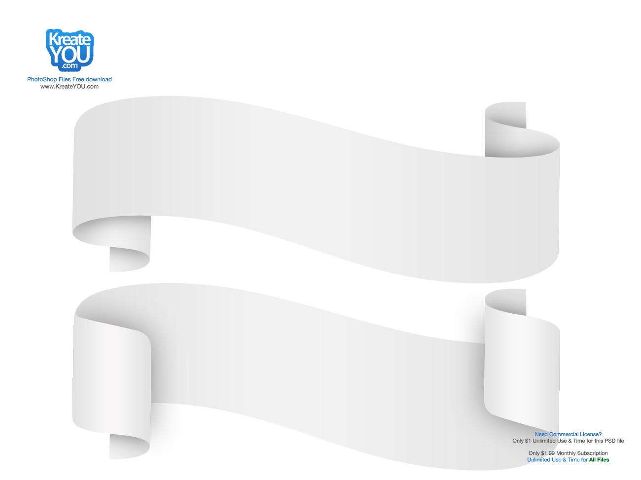 Image Gallery white ribbon
