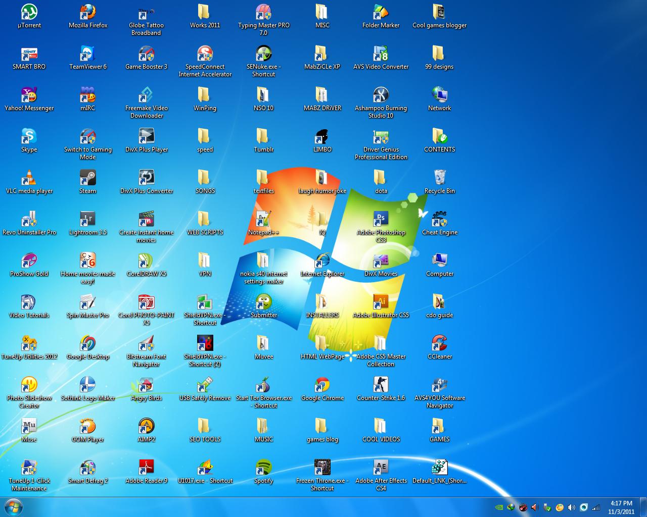 Как сделать иконки для рабочего стола windows 7