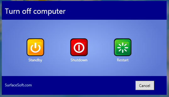 Windows XP Shut Down Icon