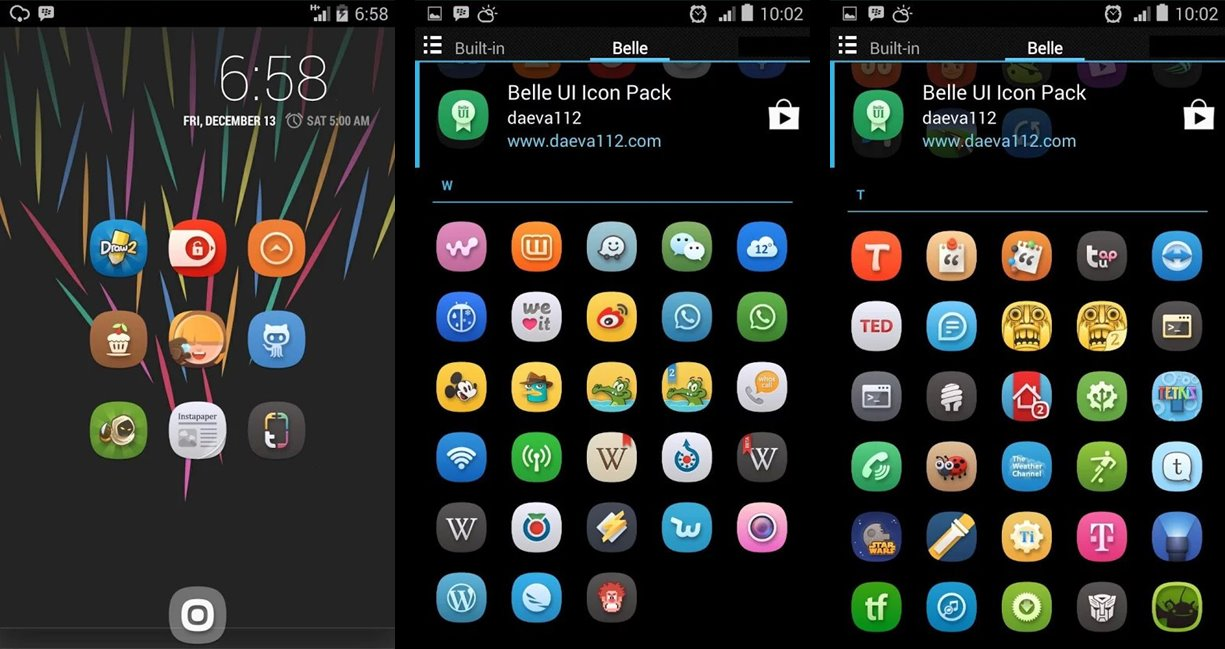 15 Ultimate Android Icon Pack Images