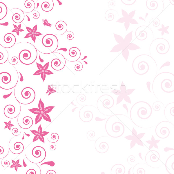9 Light Pink Roses Vector Images