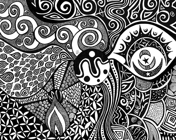 Cool black and white graphic designs joy studio design gallery best design - Any design using black and white ...