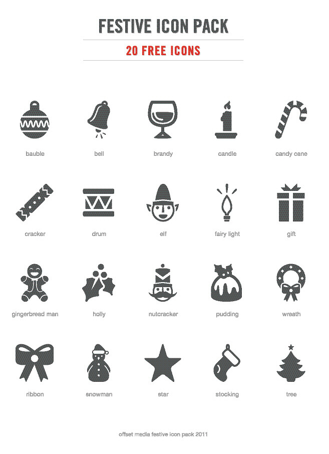 10 Christmas Icons To Print Images