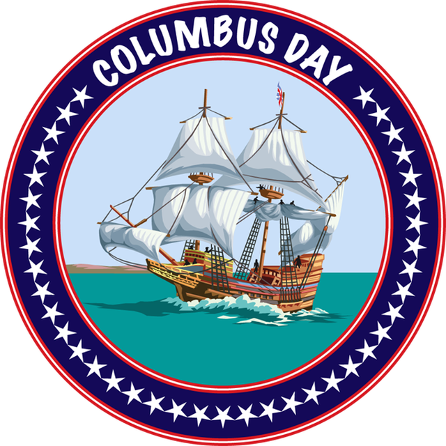 5 Columbus Day Icons Images