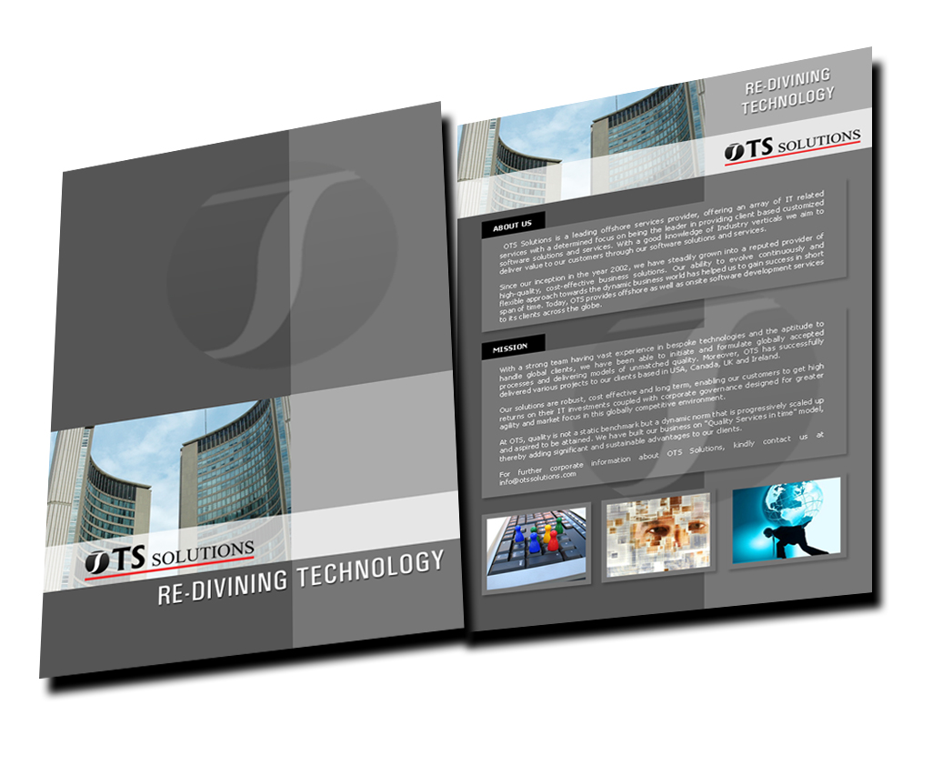 12 Corporate Brochure Design Samples Images