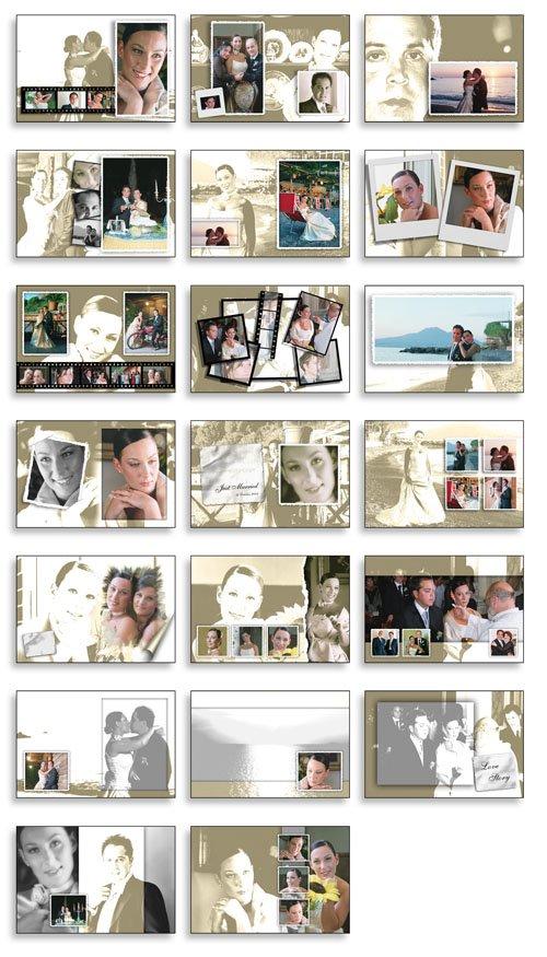 Creative Album Psd Wedding Collection