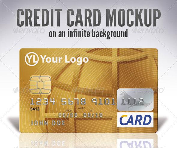Credit Card Mock Up