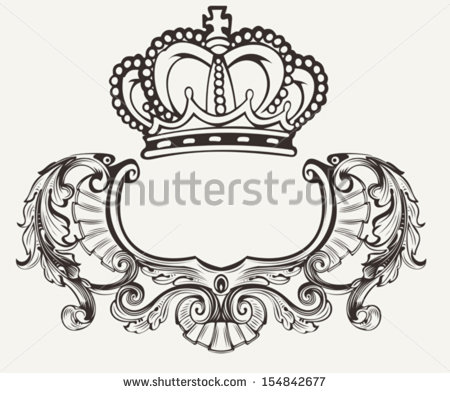 Crown Crest Clip Art