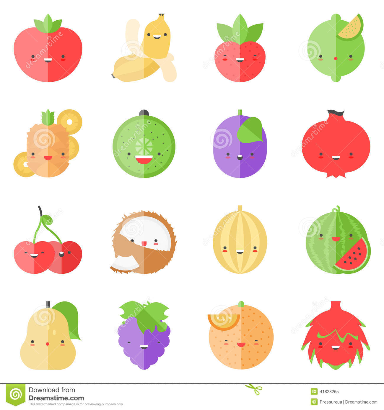 12 Cute Flat Icon Images