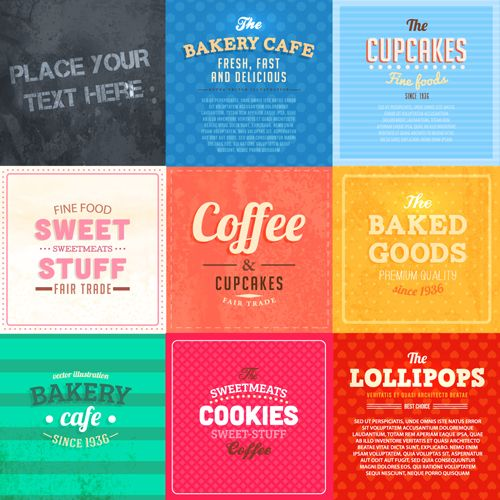 7 Food Label Design Images