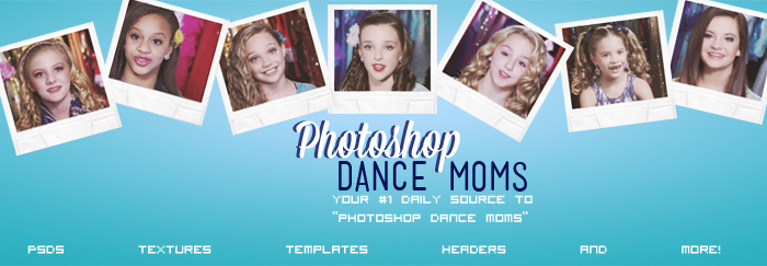 6 Dance Moms PSD Tumblr Images